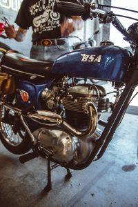 Machine Social Club Reg 1963 BSA Scrambler